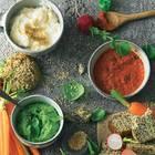 Drei Gemüsedips