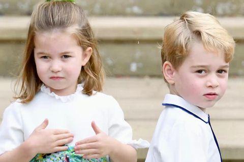 Prinz George & Prinzessin Charlotte: Sie dürfen sich über eine besondere Rolle freuen
