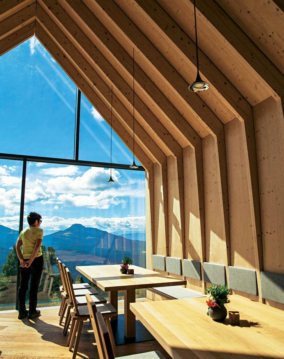 Südtirol: Oberholz-Hütte