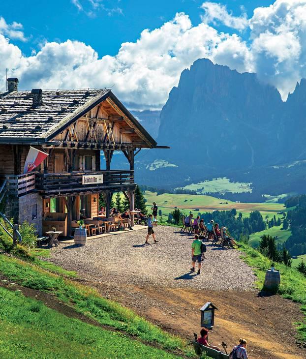 Südtirol: Tschötsch Alm