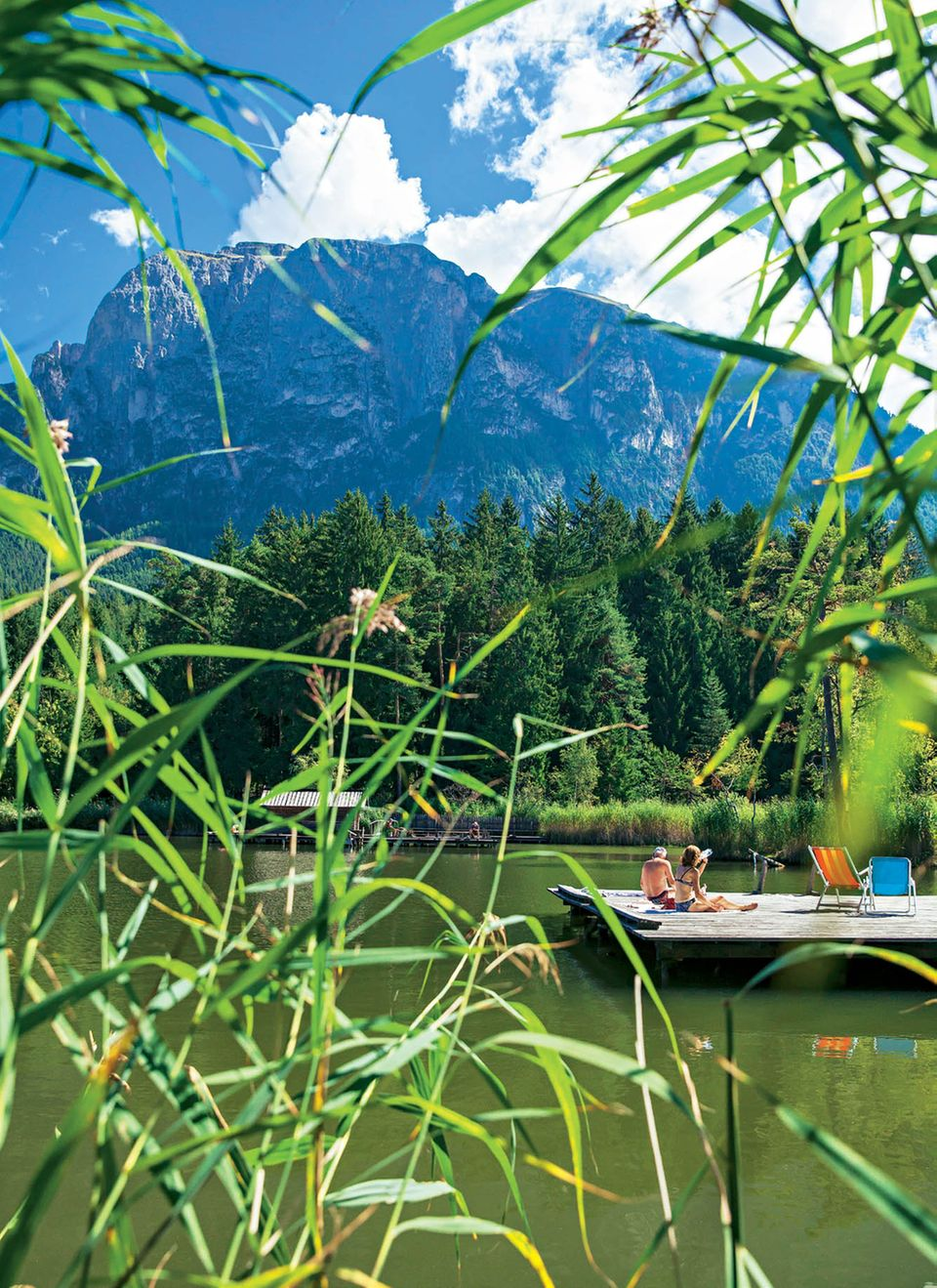 Südtirol: Völser Weiher