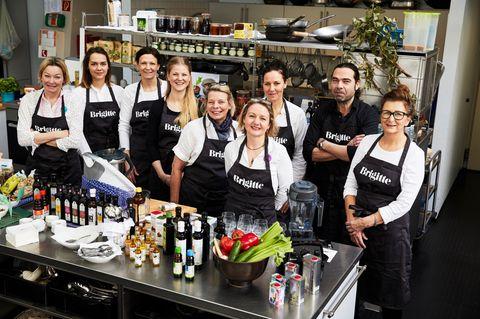 Kochprofis der BRIGITTE-Versuchsküche