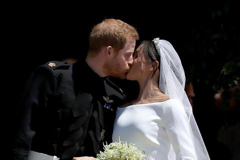 Meghan und Harry Liebesregeln: Hochzeitsfoto