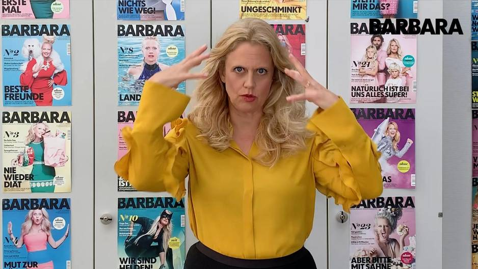Barbara über scrunchie