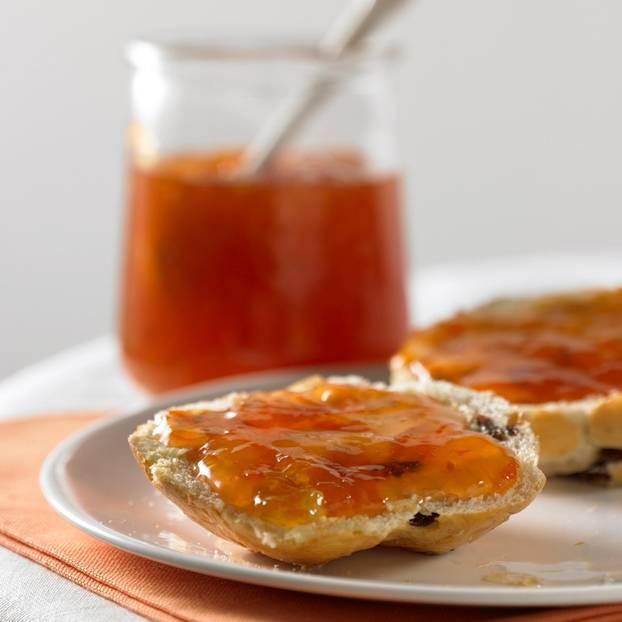 Orangen-Senf-Konfitüre