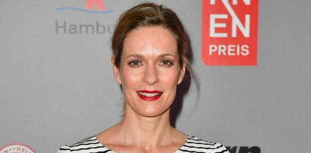 Lisa Martinek auf dem roten Teppich