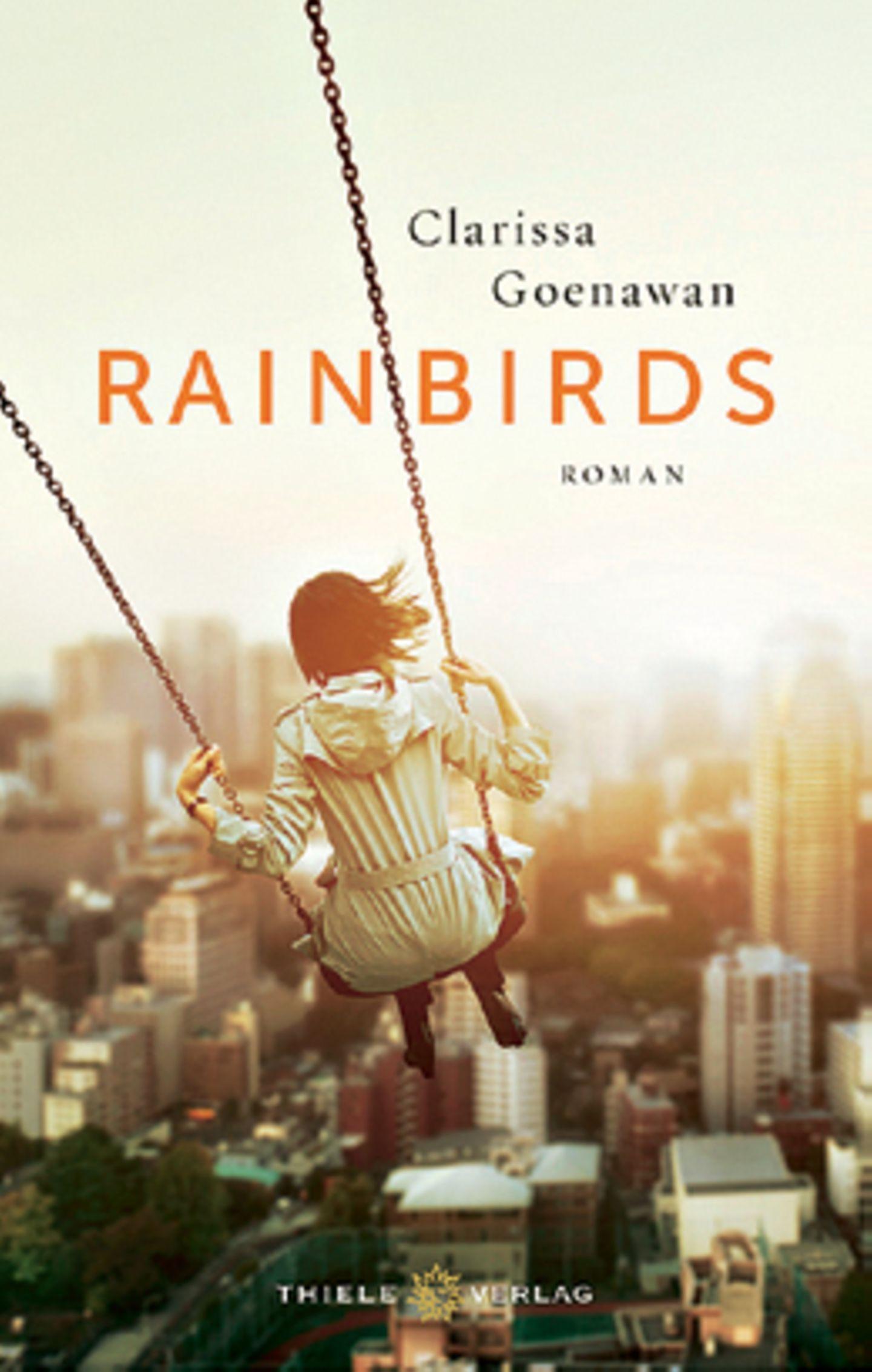 """Bücher für den Urlaub: Buchcover """"Rainbirds"""""""