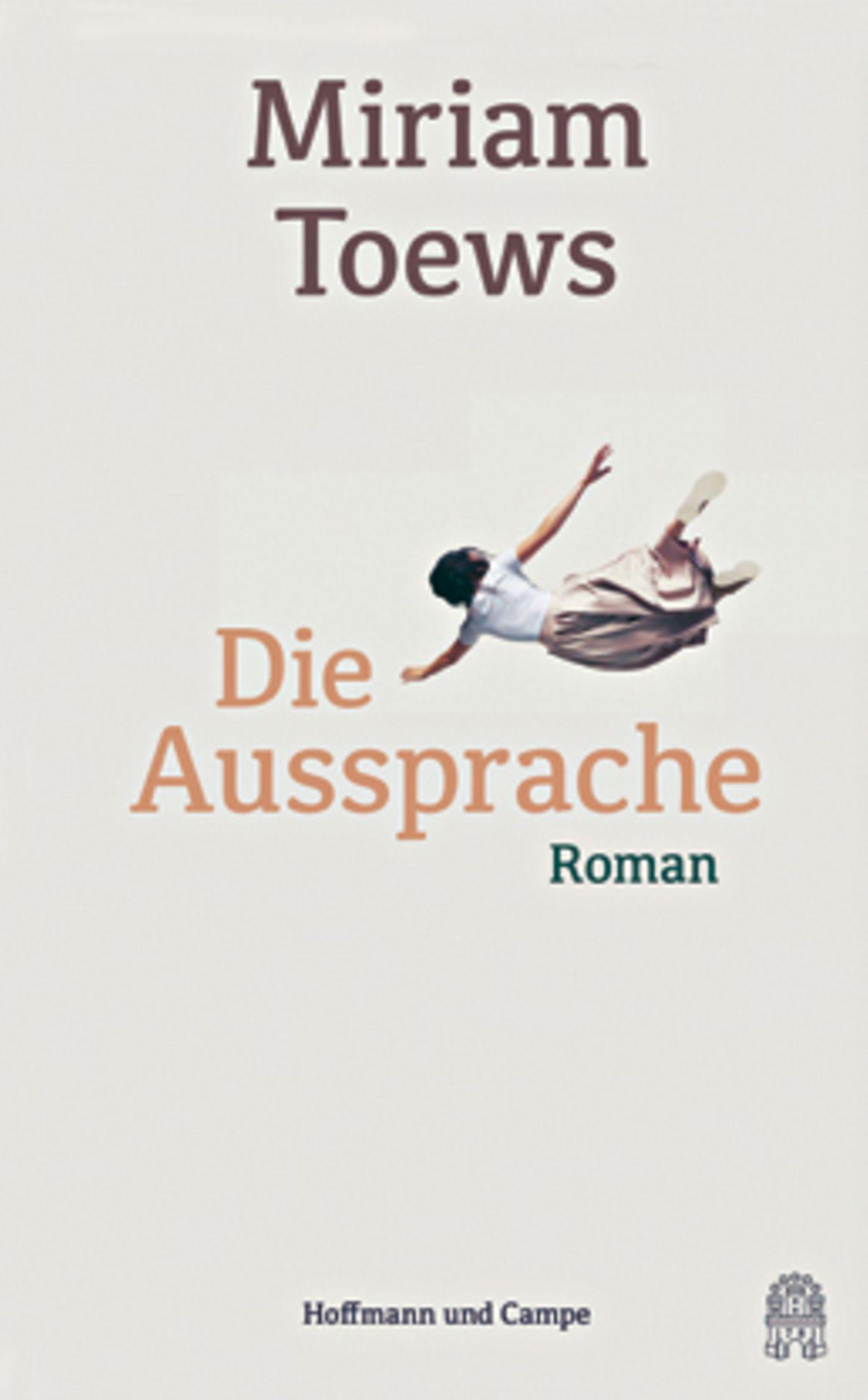 """Bücher für den Urlaub: Buchcover """"Die Aussprache"""""""
