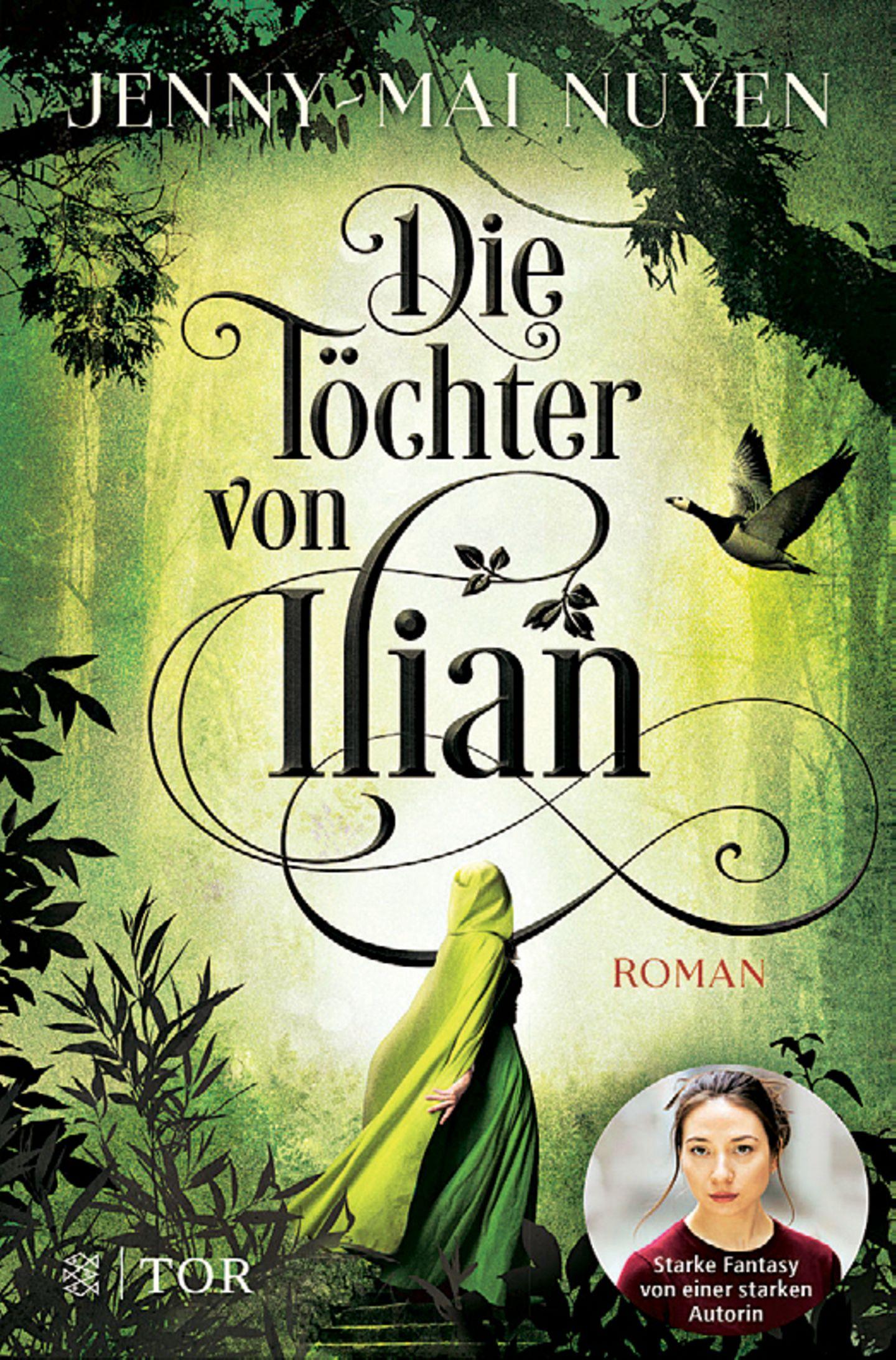 """Bücher für den Urlaub: Buchcover """"Die Töchter von Ilian"""""""