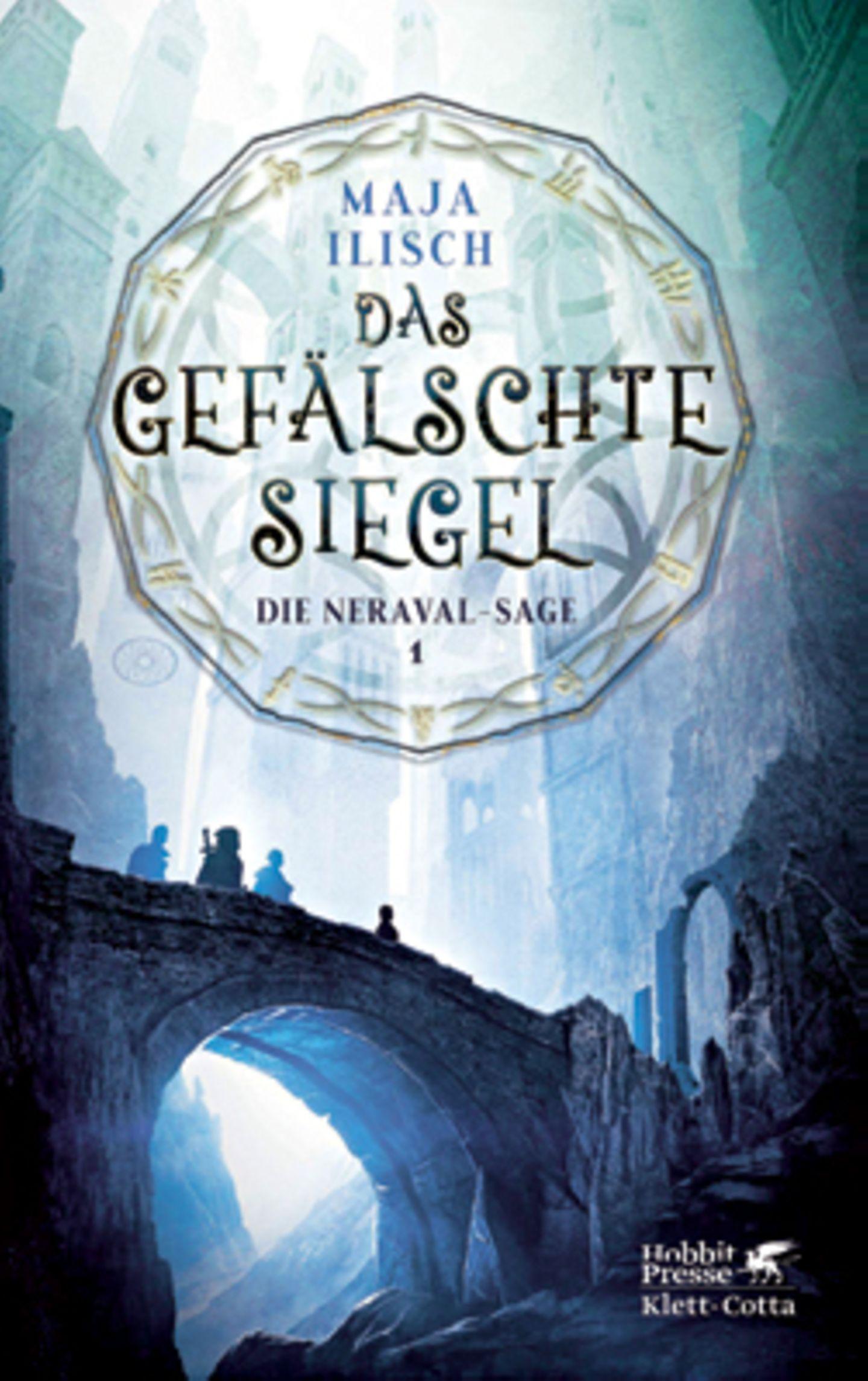 """Bücher für den Urlaub: Buchcover """"Das gefälschte Siegel"""""""