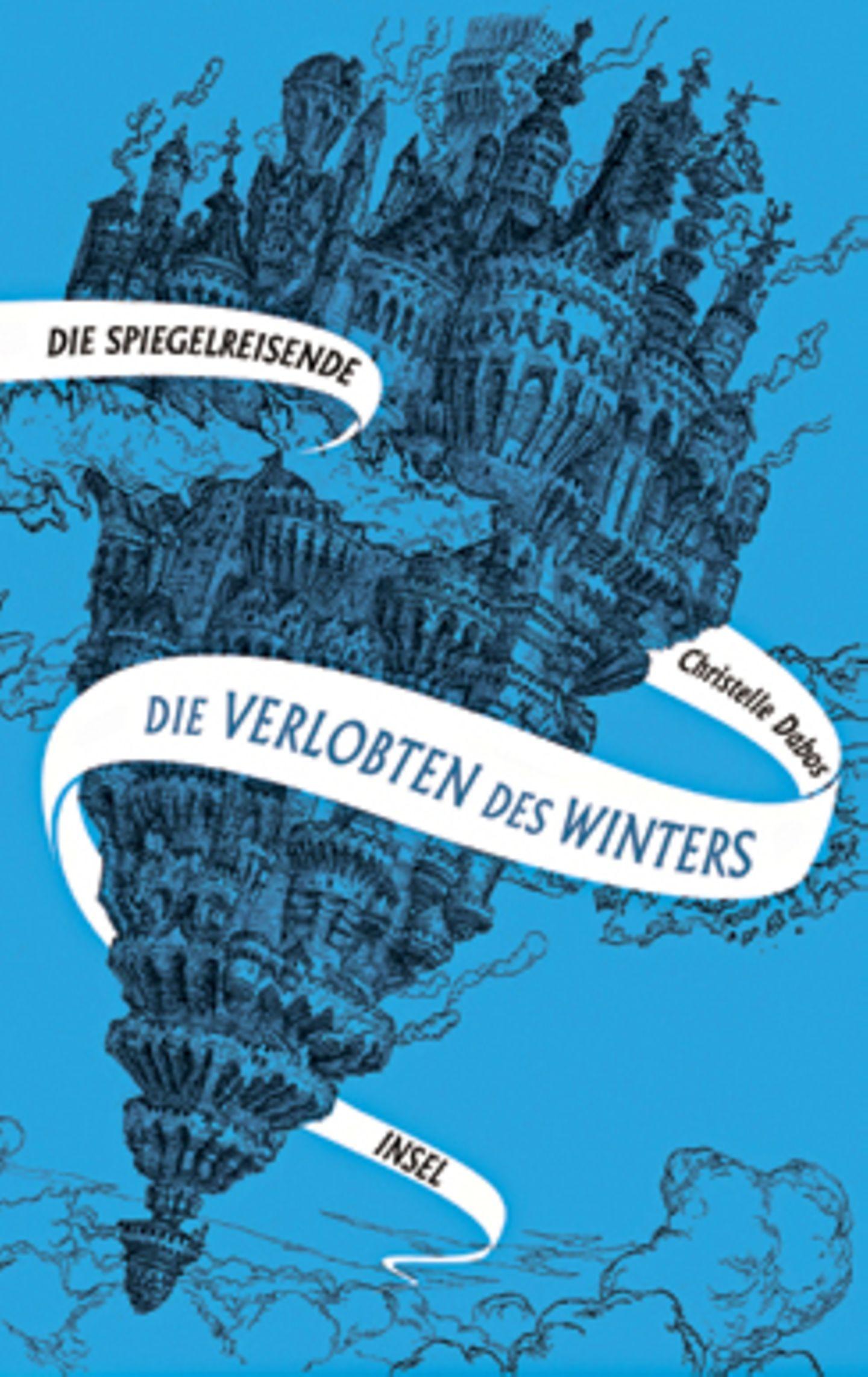 """Bücher für den Urlaub: Buchcover """"Die Verlobten des Winters"""""""