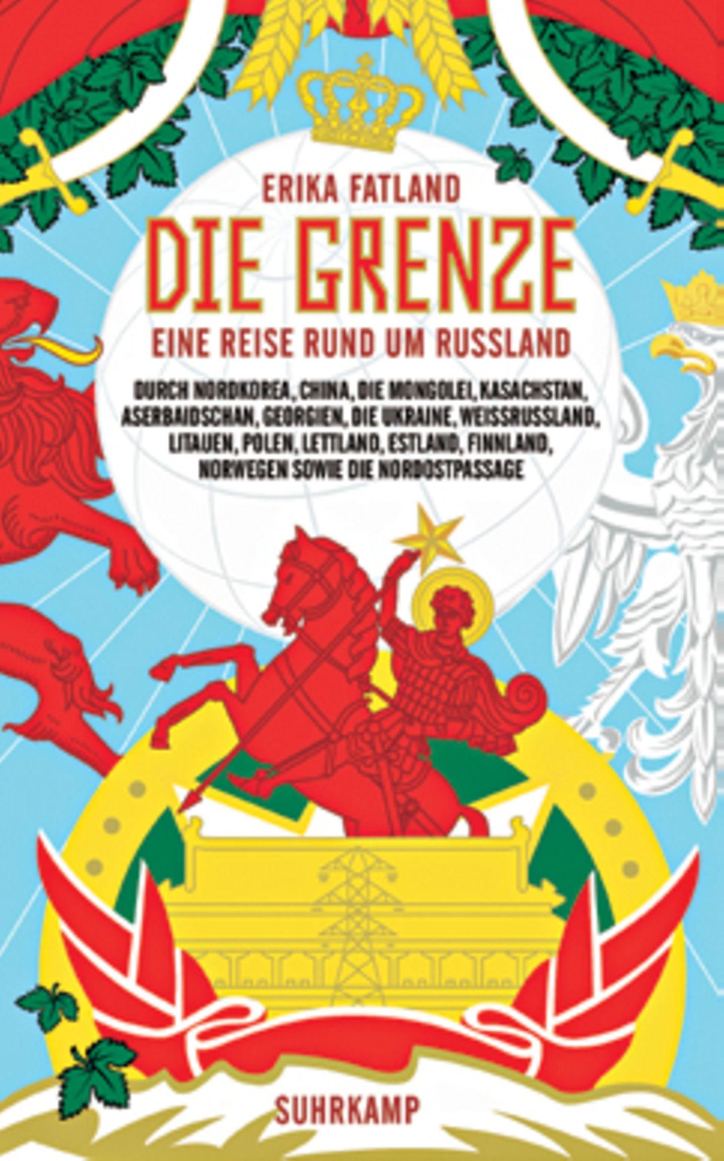 """Bücher für den Urlaub: Buchcover """"Die Grenze"""""""