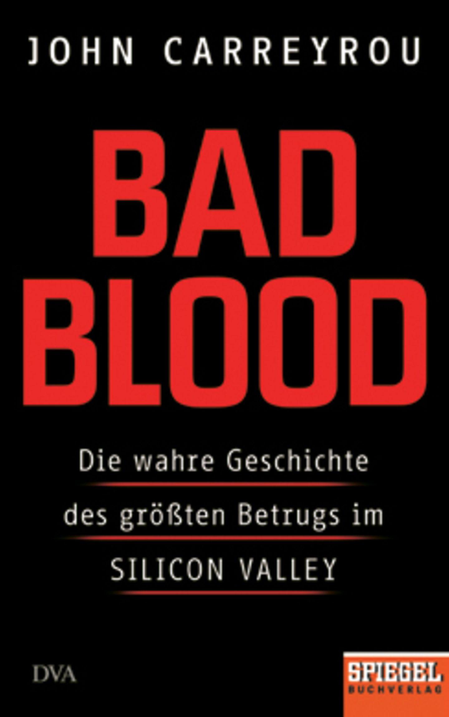 """Bücher für den Urlaub: Buchcover """"Bad Blood"""""""