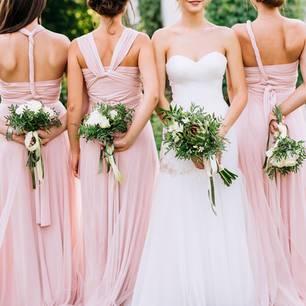 Reddit: Braut mit ihren Brautjungfern