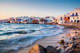 Reiseziele für Mädelstrips: Strand von Mykonos