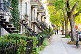 Reiseziele für Mädelstrips: Straße in Montreal