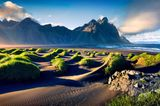 Reiseziele für Mädelstrips: Die Landzunge Stokksnes in Island