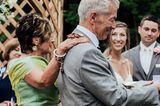 Pennsylvania: Schmetterlinge rühren bei Hochzeit zu Tränen: Die Eltern des Bräutigams mit Schmetterlingen