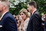 Pennsylvania: Schmetterlinge rühren bei Hochzeit zu Tränen: Eine Frau weint vor Rührung