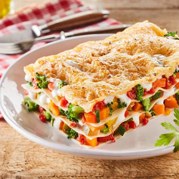 Brokkoli-Lasagne