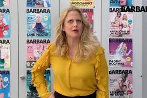 Barbara über Beineschminken