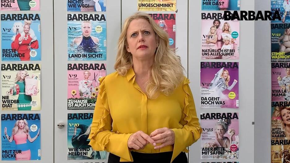 Barbara über babyshower