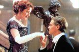Die schönsten Filmküsse: Leonardo DiCaprio und Kate Winslet in Titanic