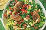 Türkischer Salat mit Köfte