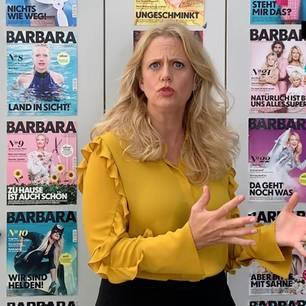 Barbara über veganeburger