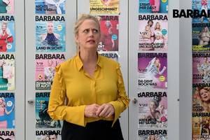 Barbara über etagere