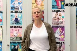 Barbara über gegensprechanlage