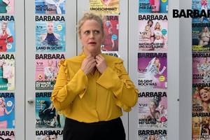 Barbara über drachensteigenlassen