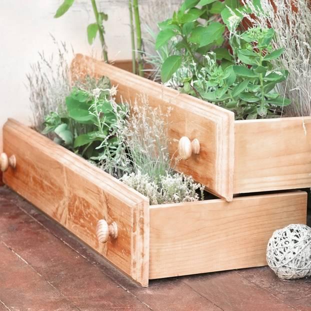 Gartendeko selber machen - die schönsten Ideen | BRIGITTE.de