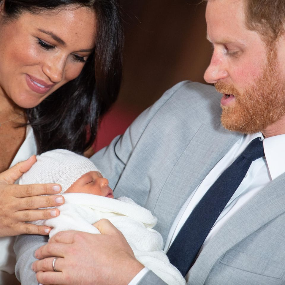 Archies Taufe: Meghan, Harry und Archie