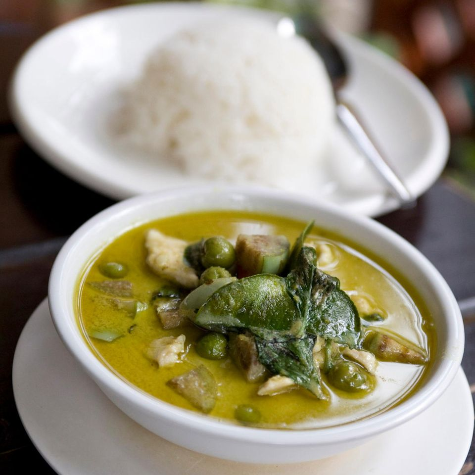 Thai-Rezepte: Thai-Curry