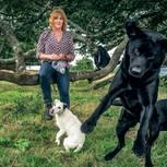 Housesitting: Beatrix mit den Hunden