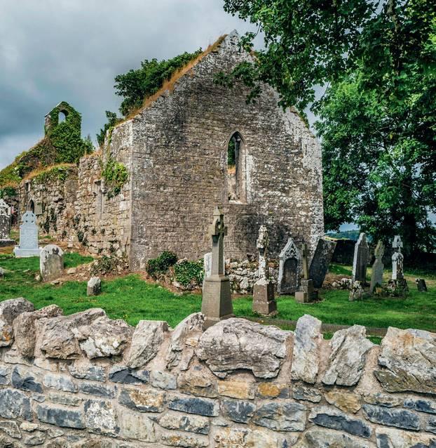 Housesitting: Friedhof in Irland