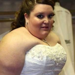 70 Kilo leichter: Eden im Brautkleid