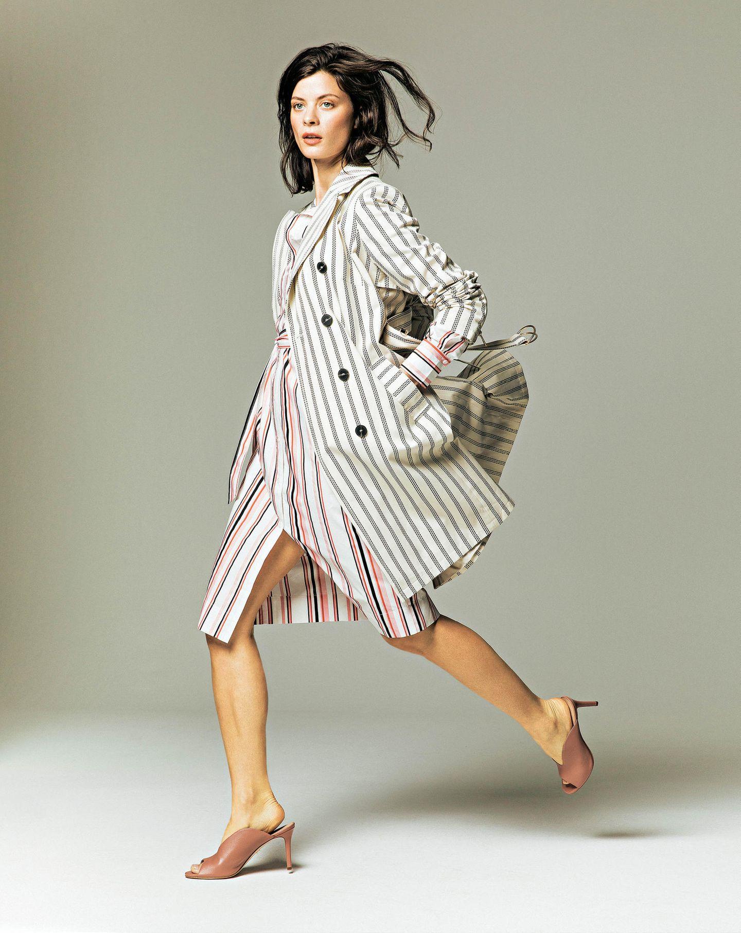 Büro-Look: Hemdblusenkleid