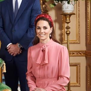 Die Looks von Kate: Die englische Königsfamilie bei der Taufe von Archie