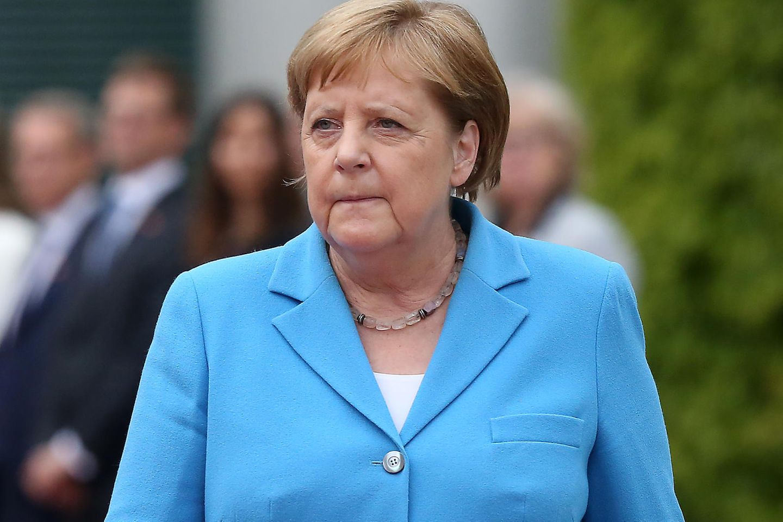 Angela Merkel erleidet immer wieder Zitteranfälle