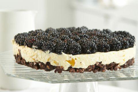 Brombeer-Mango-Torte