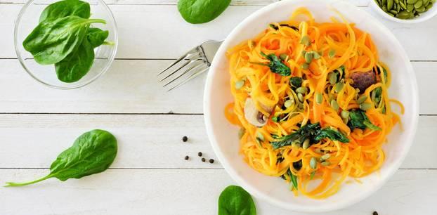 Blutzucker-Diät: Nudeln aus Karotten