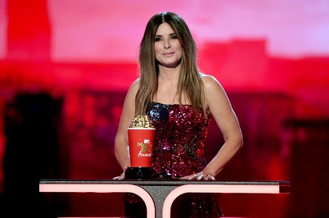 Longbob: Sandra Bullock bei den MTV Movie Awards
