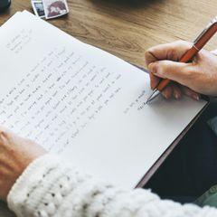Brief an die Ex-Frau
