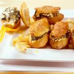 Gefüllte Spinat-Kartoffeln
