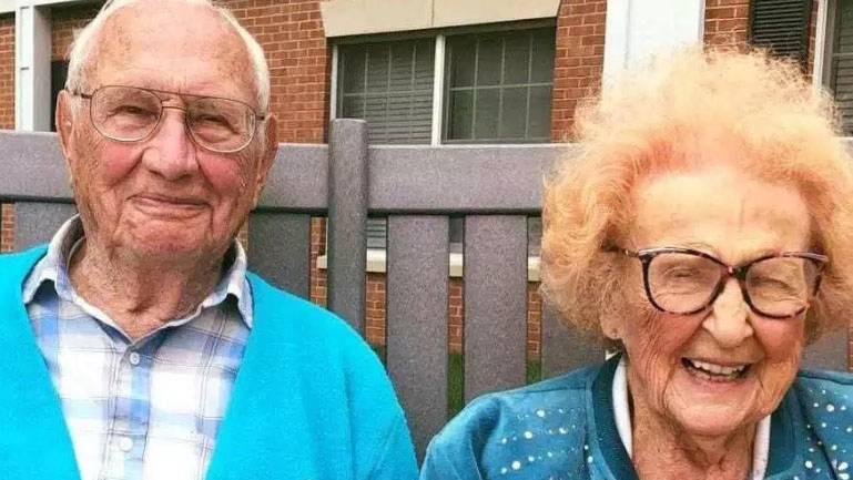 Wahre Liebe: Dieses Paar heiratet mit über 100 Jahren