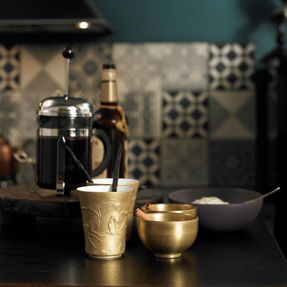 Kaffee mit Amarula-Likör