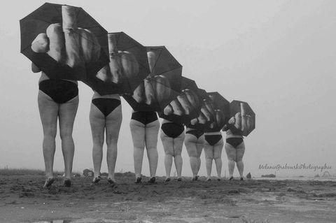 """""""Lipödem ist ein Arschloch heißt das Fotoprojekt von Melanie Lorenz"""