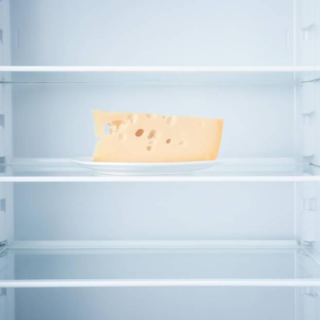 Käse einfrieren: Käse im Kühlschrank